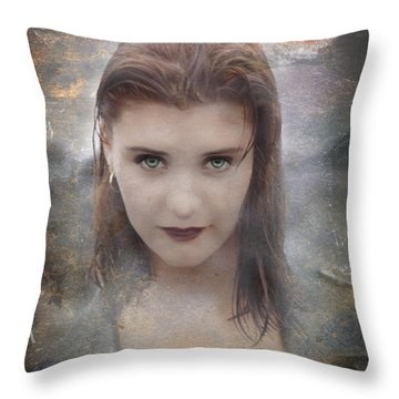 Vamp Throw Pillow by Bruce Stanfield