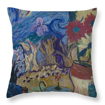 Van Gogh Spirit Throw Pillow