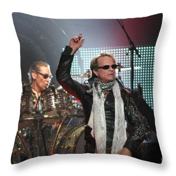 Van Halen-7148 Throw Pillow by Gary Gingrich Galleries