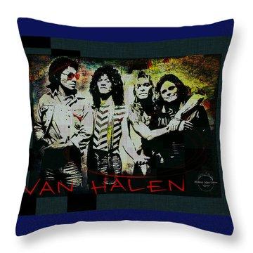 Van Halen - Ain't Talkin' 'bout Love Throw Pillow