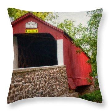 Van Sandt Bridge Throw Pillow
