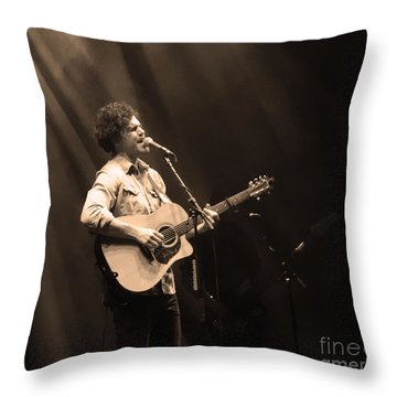 Vance Joy - Denver Throw Pillow