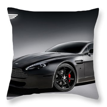 Vantage V12 Throw Pillow