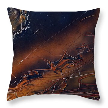 Vapors Throw Pillow