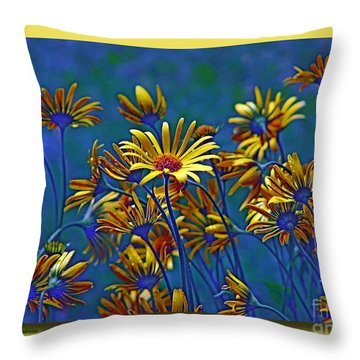 Throw Pillow featuring the photograph Variations On A Theme Of Florid Dreams by Chris Anderson
