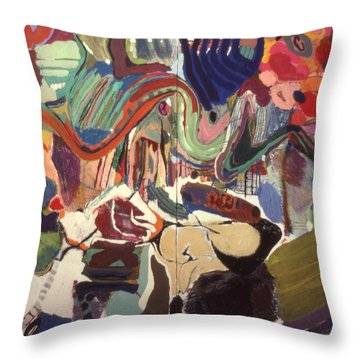 Variations#2 Throw Pillow