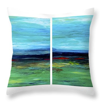 Vast Horizon Throw Pillow