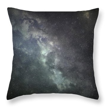 Vast Universe Throw Pillow by Cynthia Lassiter