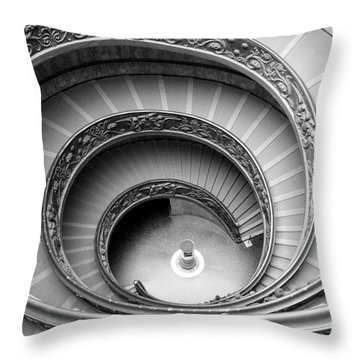 Vatican Spiral Throw Pillow