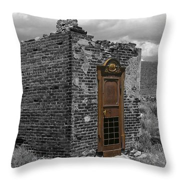 Vault Of Time Throw Pillow
