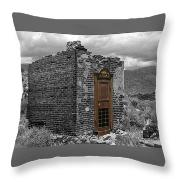 Vault Of Time Throw Pillow