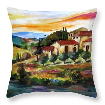 Vecchio Casale Throw Pillow