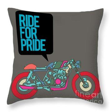 Motor Throw Pillows