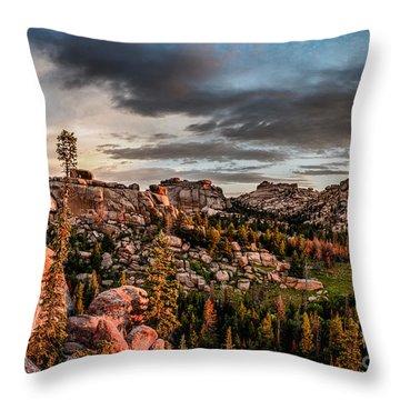 Vedauwoo View Throw Pillow