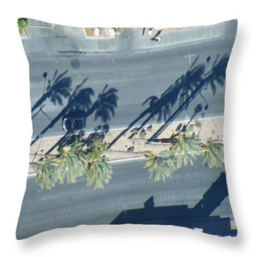 Veepalm Throw Pillow by Brian Boyle