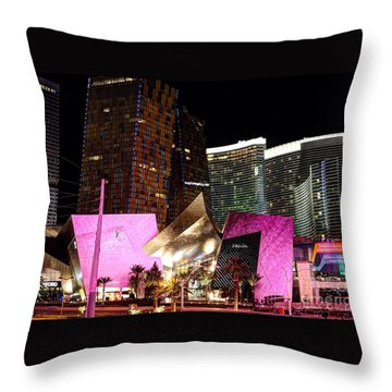 Throw Pillow featuring the photograph Vegas by Kevin Ashley