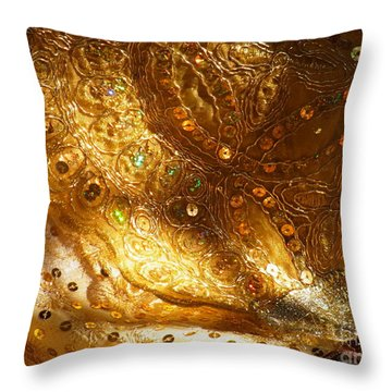 Veil Of The Bride Throw Pillow by Agnieszka Ledwon