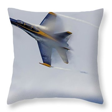 Veiled Angel Throw Pillow