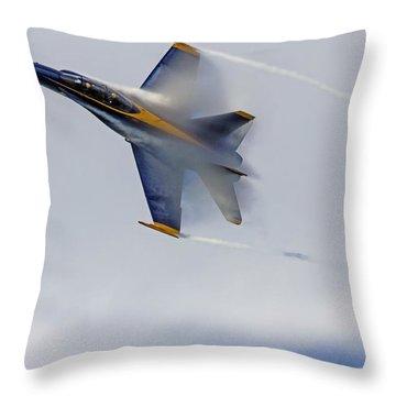 Veiled Angel Throw Pillow