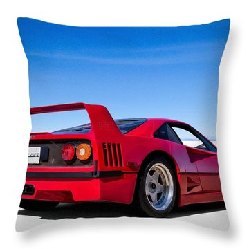 Veloce Equals Speed Throw Pillow