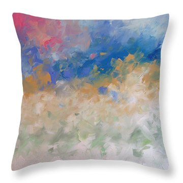Velvet Sky Throw Pillow
