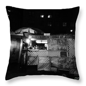 Hiding In Plain Sight Throw Pillow by Miriam Danar
