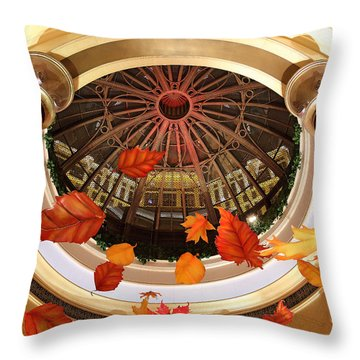 Venetian In Las Vegas Throw Pillow