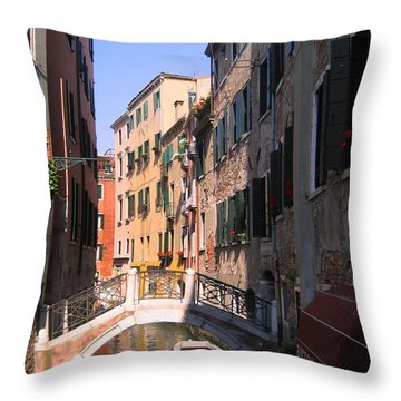 Venice Throw Pillow by Dany Lison