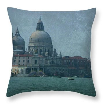 Throw Pillow featuring the photograph Venice Italy 1 by Brian Reaves