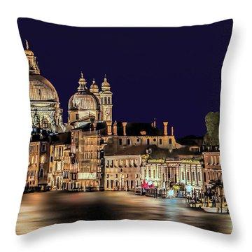Basilica Of Good Health Throw Pillow