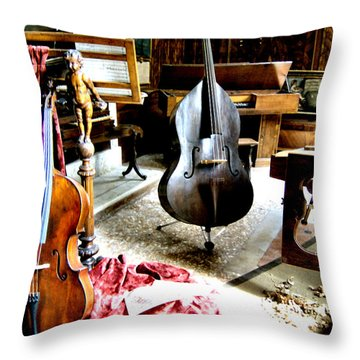 Venice Music 1 Throw Pillow