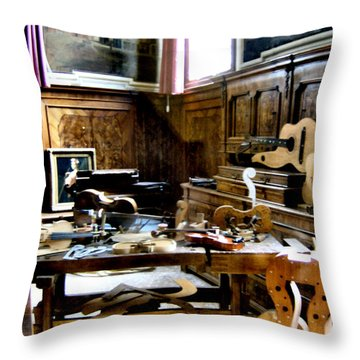 Venice Music 2 Throw Pillow