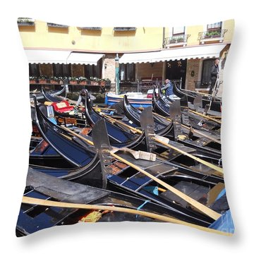 Venice Series 2 Throw Pillow