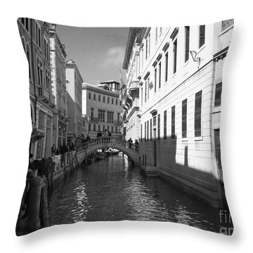Venice Series 4 Throw Pillow