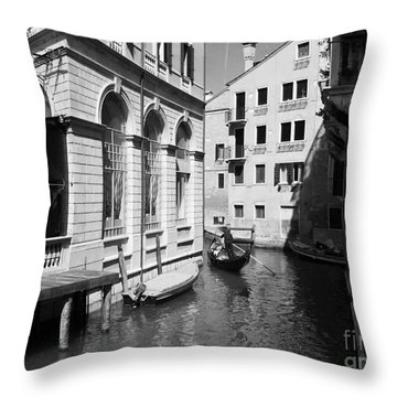 Venice Series 5 Throw Pillow