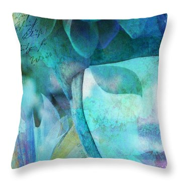 Throw Pillow featuring the photograph Venitian Carnival - Mask by Barbara Orenya