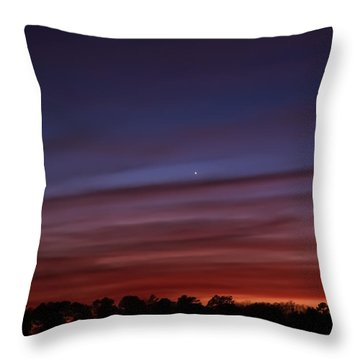 Venus And Mercury Throw Pillow