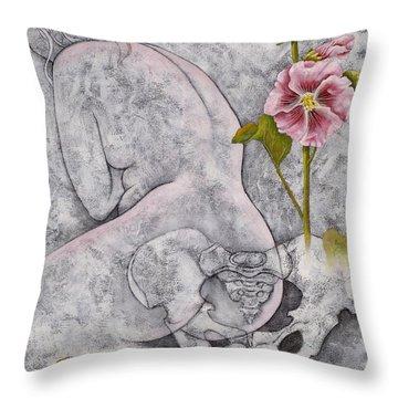 Venus Throw Pillow by Sheri Howe