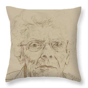 Vera Throw Pillow by PainterArtist FIN