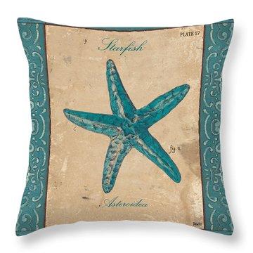 Verde Mare 1 Throw Pillow by Debbie DeWitt