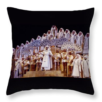 Verdi Aida Throw Pillow