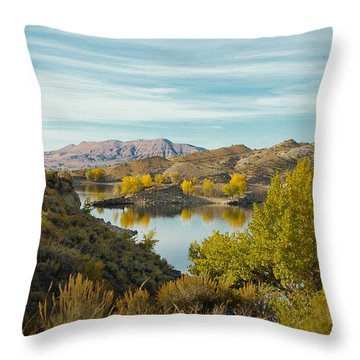Vernal Morning Throw Pillow