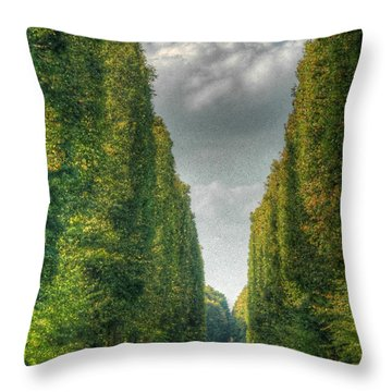 Versailles Promenade Throw Pillow