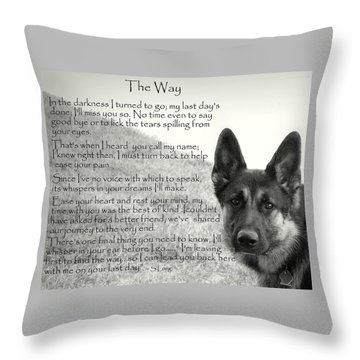 version two  The Way Throw Pillow