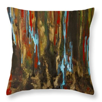 Vertical Throw Pillow by Olga Zamora