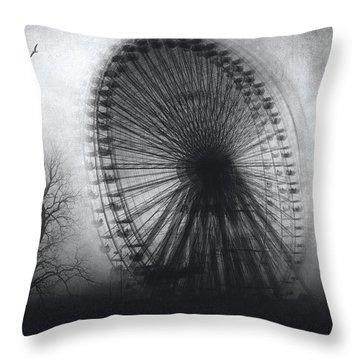 Vertigo Throw Pillow by Taylan Apukovska