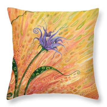Verve Throw Pillow by Tanielle Childers