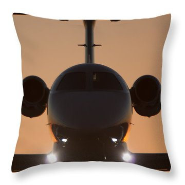 Throw Pillow featuring the photograph Very Close by Paul Job