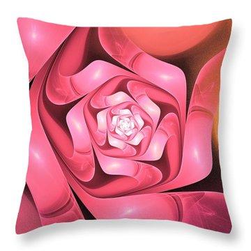 Very Special Throw Pillow by Anastasiya Malakhova