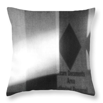 Throw Pillow featuring the photograph Very Very Secure by Steven Huszar